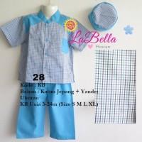 La Bella Koko Baby Blue 28 Size 3-24bln