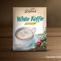 LUWAK White Koffie ORIGINAL Kopi Instan 20gr grosir Murah Coffee 3in1