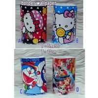 Border Wallpaper Hello Kitty/Frozen/Doraemon