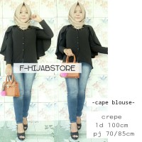 SUPPLIER HIJAB : CAPE BLOUSE BY F HIJABSTORE