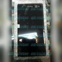 Lcd Sony Xperia C3 D2533 Ori Fullset Frame Hitam