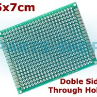 PCB Lubang 5x7cm Double Side Prototype Universal Matrix Circuit Board