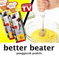 Jual Better Beater Hand Mixer Otomatis (Manual) Harga 1 Set=2pcs Murah Murah