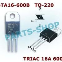 BTA16-600B BTA16-600 BTA16600 BTA16 BTA16 600 triac 16A 600v TO-220