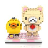 Jual LOZ Lego Nano Block Nanoblock Rilakkuma And Kiiroitori Murah