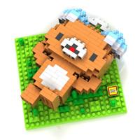 Jual LOZ Lego Nano Block Nanoblock Rilakkuma Relaxing Murah