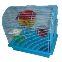 Kandang Hamster Medium Biru