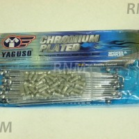 harga Jari-jari/ruji Velg 10x120 Yaguso Carbon Steel Chrome Tokopedia.com