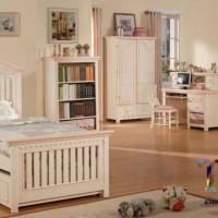Set Kamar Tempat Tidur Anak Dua Ranjang Minimalis
