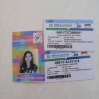 ID card /kartu bpjs/member card/kartu pelajar