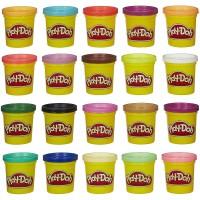 Jual Play doh tub mini 20pack Lilin Playdoh Isi 20 warna Play-doh Original Murah