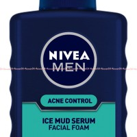 Nivea men Acne Control Fuji Ice Mud Serum Faciam Foam sabun Muka Pria