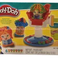 Play-doh salon salonan gunting rambut Playdoh original lilin mainan