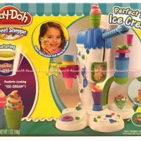 Play-doh Perfect twist ice cream maker membuat ice crem Playdoh ORI