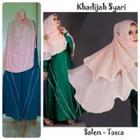 Model Gamis Terbaru Khadijah Syar'i