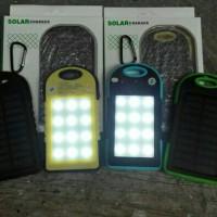 harga Power Bank Solar Cell - PowerBank Plus Lampu LED - PB SolarCell Tokopedia.com