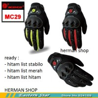 Jual Sarung tangan SCOYCO MC 29/MC29 FULL/ Gloves Scoyco MC29, ORIGINAL Murah
