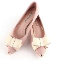 flat pita elegan tapi murah wrna pink