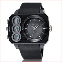 New 2016 Brand OHSEN Mens Sport Watches LED Display Water Resistant