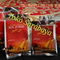 Bumbu Gule Gulai | Bumbu Nasi Kebuli | Bumbu Nasi Tomat Bin Juber 50gr