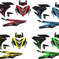 Modifikasi Stiker Yamaha YAMAHA MX KING black edition Spec B