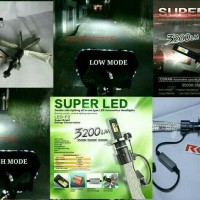 LAMPU LED H4 / HS1 GARANSI | LAMPU MOBIL LED