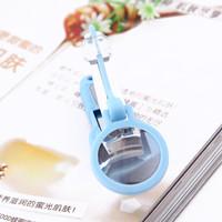 Souvenir gunting kuku dengan kaca pembesar unik meni pedi lucu KHM086