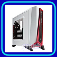 Corsair Carbide SPEC-ALPHA Gaming Case With Window - Red White