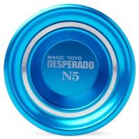 TH006. Magic YOYO N5 Alumunium, Desperado series Original - Biru