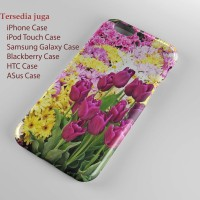 gambar taman bunga ,hard case , iphone case ,semua hp