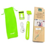 Tongsis Wireless Noosy Self Timer Monopod for iOS And Android