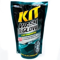 KIT Wash & Glow Car Shampoo 800ml USA Johnson Shampo Mobil