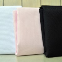 Kain Kristik / Cross Stitch, Warna Putih / Pink / Hitam