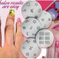 Salon express nail art stamper stamp nail manicure pedicure