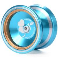 TH109 Magic YOYO M001 Yoyo Ball Alloy Aluminum, warna : Biru