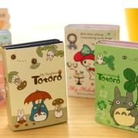 Totoro Melody Sticky Notes Memo Book Post / Stick It Unik Buku Lipat