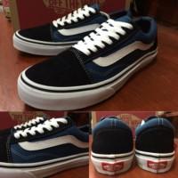 Sepatu Vans Old Skool Black Navy Original Premium Quality BNIB