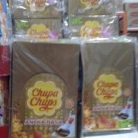 CHUPA CHUPS LOLLIPOP 50S ANEKA RASA ORIGINAL BOX