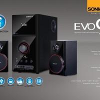 SONIC GEAR SPEAKER 2.1 EVO 9 BTMI 54W (SONICGEAR) (RADIO, SD, BT)