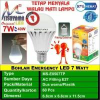 Lampu LED Emergency MITSUYAMA 7 Watt