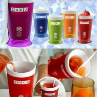 ZOKU Ice Cream Smoothie Milkshake Maker cup Gelas Pembuat Es