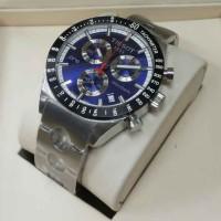 TISSOT PRS-156 SILVER BLUE CHRONOGRAPH