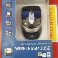 harga Kaisar Mouse Wireless Nano Optical KS 306 Tokopedia.com