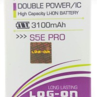 Baterai Log On Advan S5E PRO Double Power IC Batre Baterei Battery