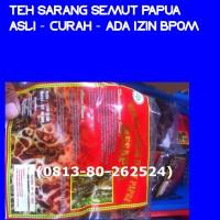 Teh Sarang Semut Papua - Izin BPOM