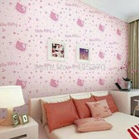 Wallpaper Sticker Hello Kitty