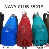 Tas Selempang Navy Club Kode 5501