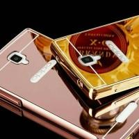 Oppo Neo R831 Luxury Bumper Case Aluminium Back Cover Mirror
