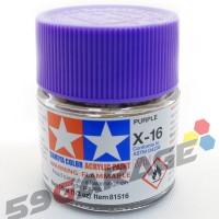 tamiya acrylic X-16 Purple - Model Kit Gundam