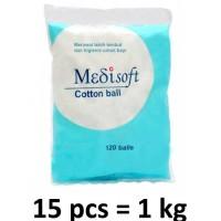 Medisoft Cotton Ball / Kapas Bulat